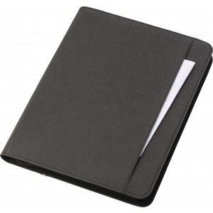 A4 Svepa PU document folder, integrated power bank, Grey (6729-03)