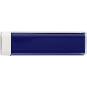 ABS power bank with Li-ion battery, Cobalt blue (4200-23CD)