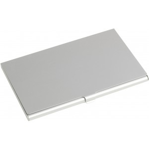 Aluminium card holder, silver (8766-32CD)