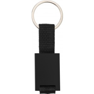 Aluminium key holder, Black (8845-01)