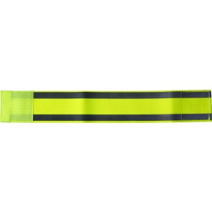 Arm band with reflective stripes, Yellow (8288-06)