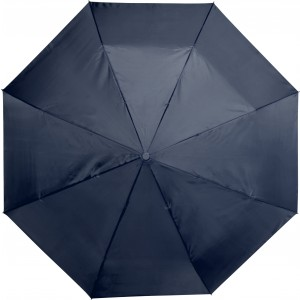 Automatic polyester foldable umbrella., Blue (5215-05CD)