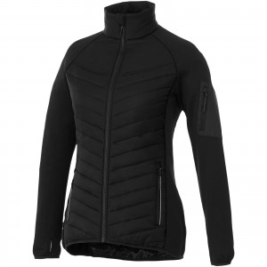 Banff hybrid insulated ladies jacket, solid black, XS (3933299)