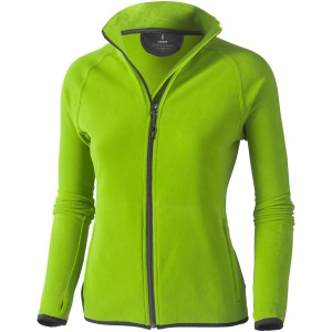 Brossard micro fleece full zip ladies jacket, Apple Green (3948368)