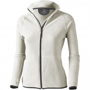 Brossard micro fleece full zip ladies jacket, Light grey (3948390)