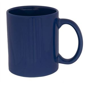 Ceramic mug, 0.3 ltr, blue (47004)