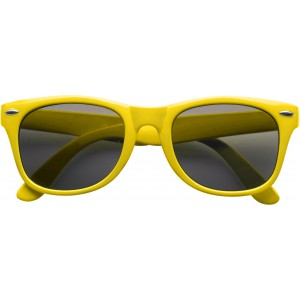 Classic fashion sunglasses, yellow (9672-06CD)