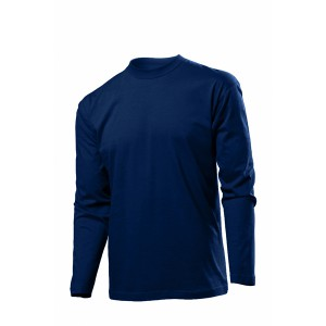 Classic-T Long Sleeve Long Sleeve T-Shirt, Blue Midnight, S (ST2500.BLM)