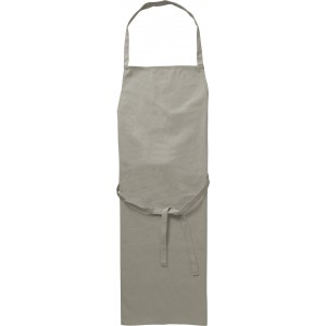 Cotton (180g/m2) apron, grey (7600-03CD)