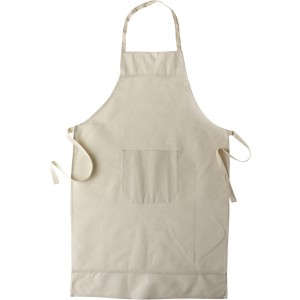 Cotton apron, khaki (6198-13CD)