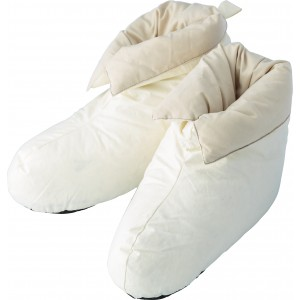 Cotton, house shoes, duck feather and down filling (5468-13M)