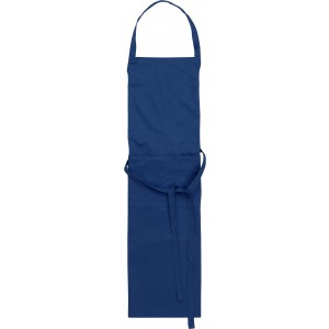 Cotton with polyester apron, blue (7635-05)