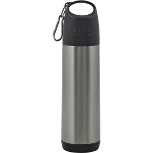 Double walled thermos bottle (500ml), Silver (8244-32)