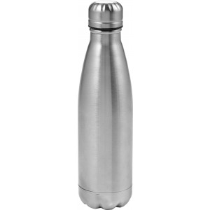 Double walled water bottle (550ml), Silver (8223-32)