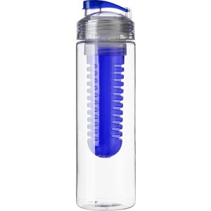 Drinking bottle (650 ml) with fruit infuser, blue (7307-05CD)