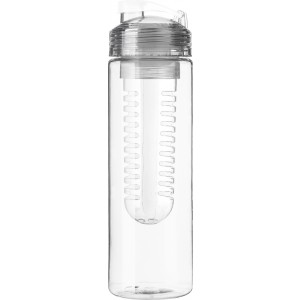 Drinking bottle (650 ml) with fruit infuser, white (7307-02CD)