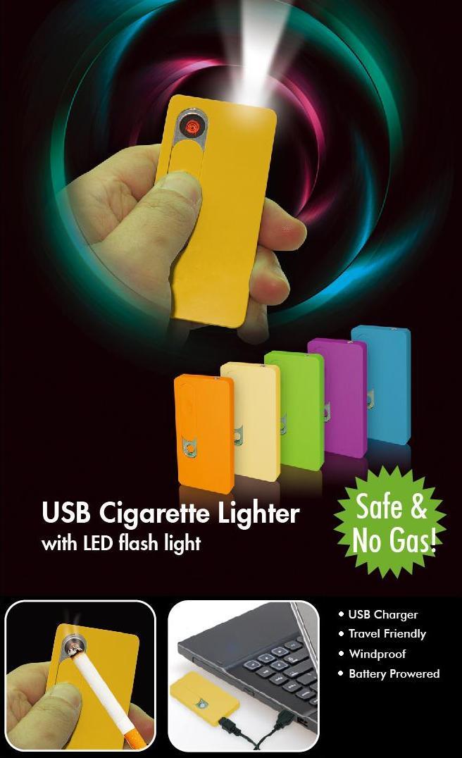 Cigarettagyújtó LED lámpával