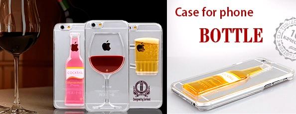3D hatású, folyadékos telefontok
