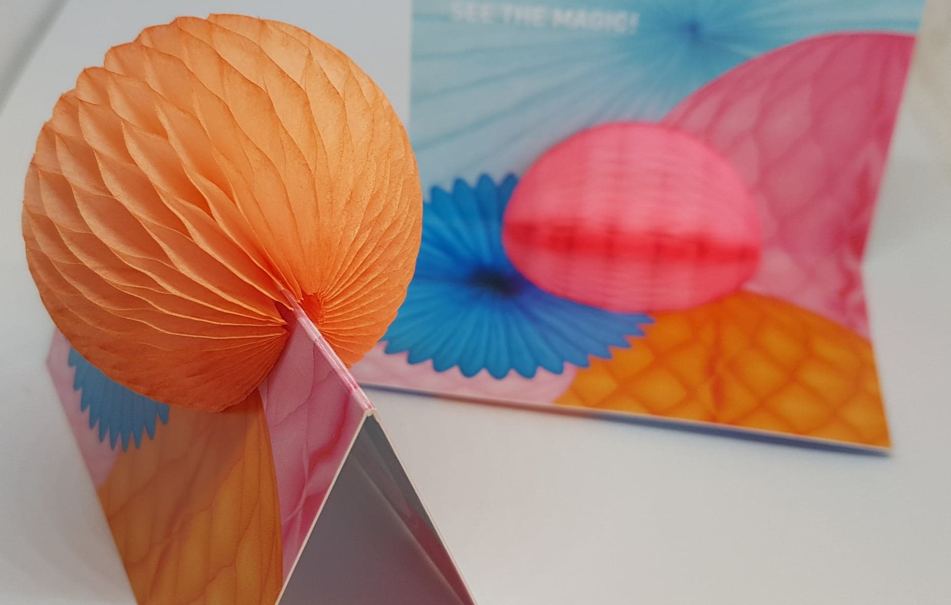 Névjegy 3D dekorációval