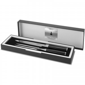Finesse carving set, solid black, 40 x 12,5 x 4,4 cm (11245200)