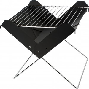 Foldable barbecue grill, Black (6547-01)