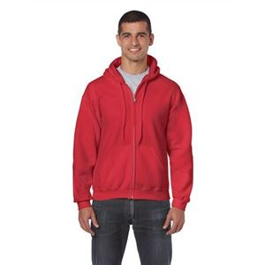 Gildan Heavy Blend Hooded Sweatshirt, Red, 2XL (GI18600RE)
