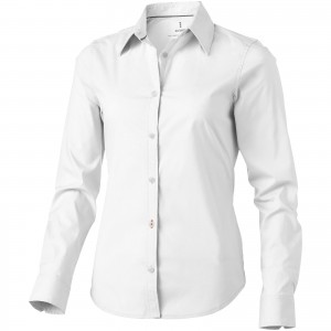 Hamilton long sleeve ladies shirt, white, XS (3816501)