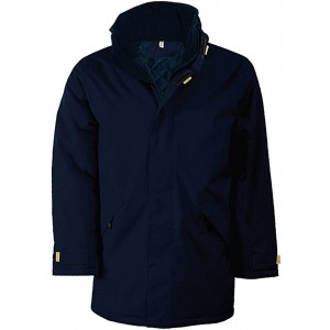 Kariban Padded Parka, Navy, 2XL (KA677NV)
