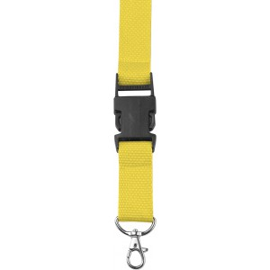 Lanyard and key holder, yellow (4161-06)