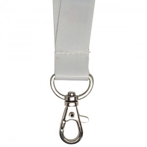 Lanyard with drop carabiner, 20 mm (raw material) (RAM1103)
