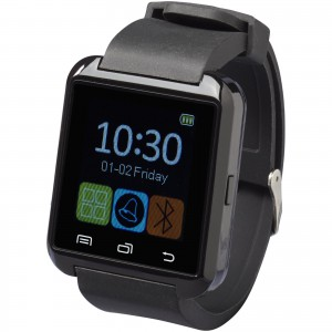 LCD SmartWatch, solid black, 24,7 x 4 x 1 cm (12371000)