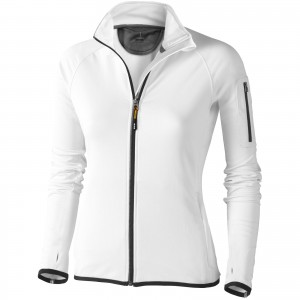 Mani power fleece full zip ladies jacket, White (3948101)