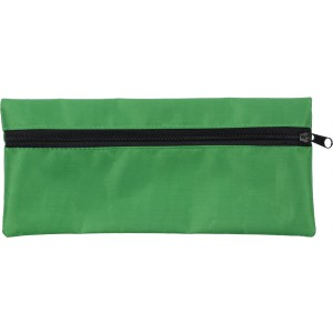 Material pencil case., Green (3598-04)