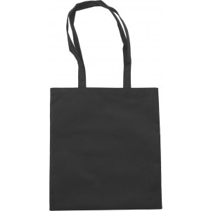 Nonwoven carrying/shopping bag, black (6227-01CD)