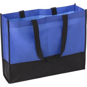 Nonwoven shopping bag (80 gr/m2)., Cobalt blue (0971-23CD)