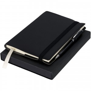 Notebook with Pen Gift Set, solid black (10712400)