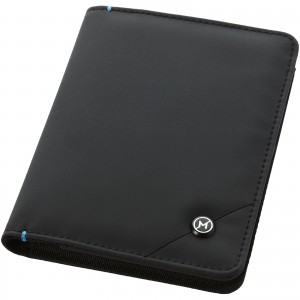 Odyssey RFID secure passport cover, solid black (11971300)
