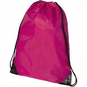 Oriole premium drawstring backpack, Magenta (19550173)