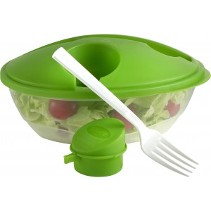 Oval shaped salad box., Pale green (6728-29)