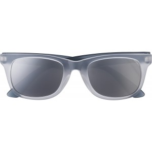 Plastic sunglasses with UV400 protection, black (7826-01)