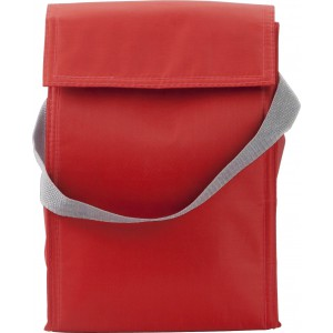 Polyester (420D) cooler/lunch bag, Red (3609-08)