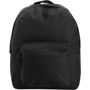 Polyester (600D) backpack, Black (4585-01)
