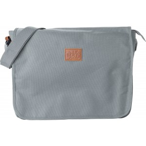 Polyester (600D) shoulder bag, Grey (8494-03)