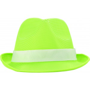 Polyester hat, lime (8246-19)