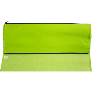 PP with nonwoven foldable beach mat, Light green (7247-19)