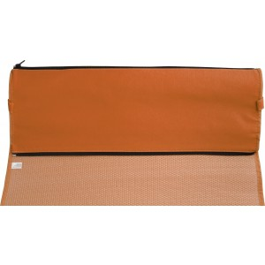 PP with nonwoven foldable beach mat, Orange (7247-07)