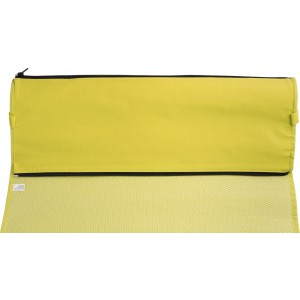 PP with nonwoven foldable beach mat, Yellow (7247-06)