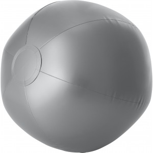 PVC inflatable beach ball, silver (4188-32)