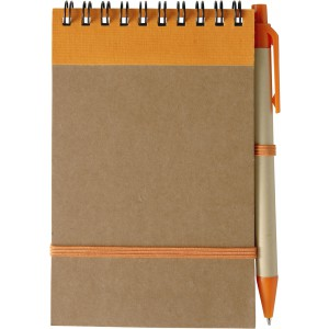 Recycled notebook, Orange ()