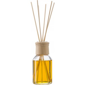 Reed diffuser with one glass bottle (100ml), Yellow (3461-06)